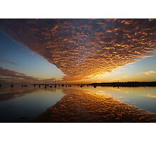 A 'Wow' of a Sunrise Photographic Print