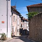 A Street in Saint-Lizier by WatscapePhoto