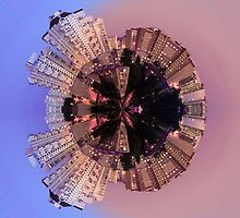 Urban little planet 1 by Explosive