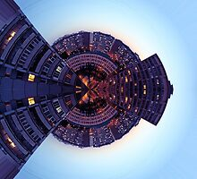 Urban little planet - sky high by Explosive