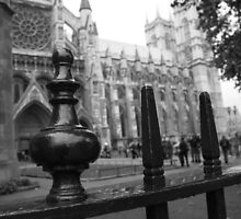 London - Westminster Abbey by Meghan Heerey