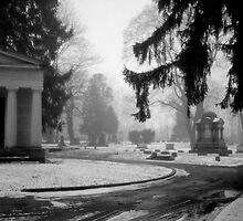 Ashland Cemetary Mausoleum by Jean Macaluso