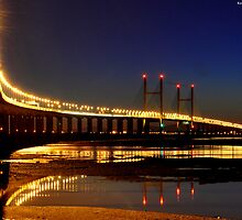 Severn Night Crossing by Kevin Cotterell