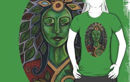 Gaia Tee by Lynnette Shelley