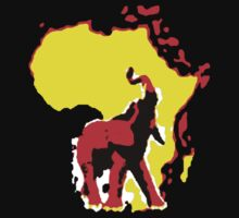 african elephant t-shirt by ralphyboy