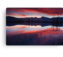 Eastern Sierra Reflection Canvas Print