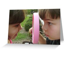 Up Close and Personal! Greeting Card
