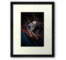 Fight - Mehdi - Ty Framed Print