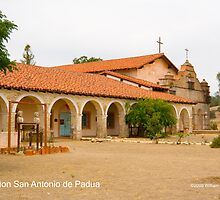 Mission San Antonio de Padua by William Hackett