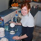 Hannah Ogilvie - teenage Port Elliot Show cookery star by lizh