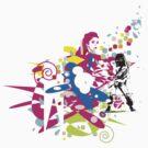 Wild guitarist  by JAZZMO