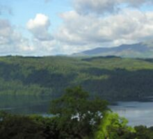 Full panoramic view of Lake Windermere from Orrest Head by Philip Mitchell