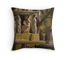 Kensal Green Cemetery in colour. Throw Pillow