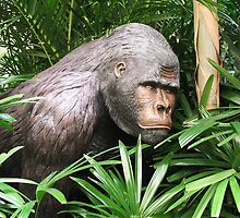Jungle Gorilla by ScenerybyDesign