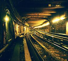Abbesses Metro tunnel by cormacphelan