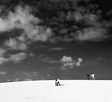 Sky and Sand by fotoWerner