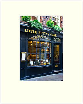 Little Betty&#x27;s Cafe by Trevor Kersley