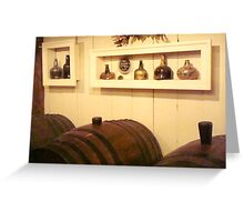 Michie Tavern Wine Cellar   ^ Greeting Card