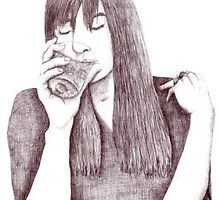 Chan Marshall (Cat Power) by Agustina