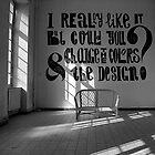 I really like it, but.... by dijle