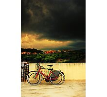 Under an ominous sky Photographic Print