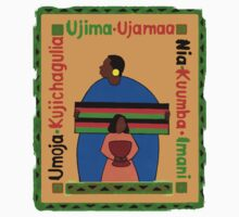 Kwanzaa Ujima T-Shirt by HolidayT-Shirts