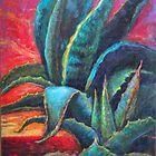 Agave Desert Sunrise by sharlesart