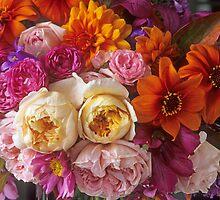 Lovina's Garden, Autumn's End by Suzanne Lewis