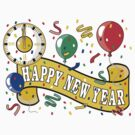 Happy New Year T-Shirts by HolidayT-Shirts