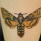 """Death Head Hawk Moth """"Death Moth"""" Tattoo by BellaStarr"""