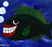 Guy Smiley Fish by Kayleigh Walmsley