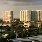 A Tribute to Philip Johnson-Moods of a City, North Miami Florida by Yuri Lev