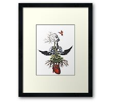 The Weight of my Heart  Framed Print