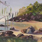 Froggy's Beach by Elaine Green