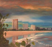 Stormy Coolangatta Morning by Elaine Green