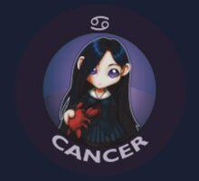 Chibi Schoolgirl Zodiac - Cancer by Julia Lichty
