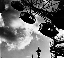 The Millennium Wheel, London, UK by aldogallery