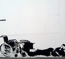 "Dolk ""Wheelchair love"" by Chris Steele"