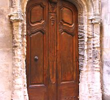 A Door in Arles France by Laurel Talabere