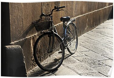 Lonely Bike by Jacinthe Brault