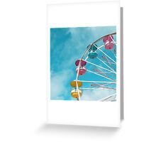 Cotton Candy Greeting Card