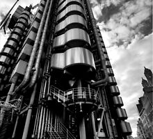 Lloyd's of London in Monochrome by timlovelady