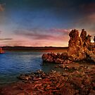 Mono Lake Scene post sunset by socalgirl