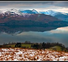 Snow on the Catbells by Shaun Whiteman