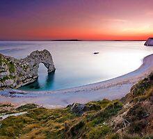 Durdle Door Sunset by EwanHitchcoe
