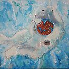 Save Me Save The Planet 16x20 acrylic on canvas by eoconnor