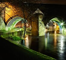 Old Elvet Arches - Durham by David Lewins