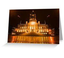 Bolton Town Hall Greeting Card