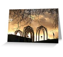 Arches Aglow Greeting Card