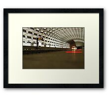 Virginia Square Metro I Framed Print